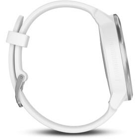 Garmin vívoactive 3 - avec bracelet en silicone blanc argent